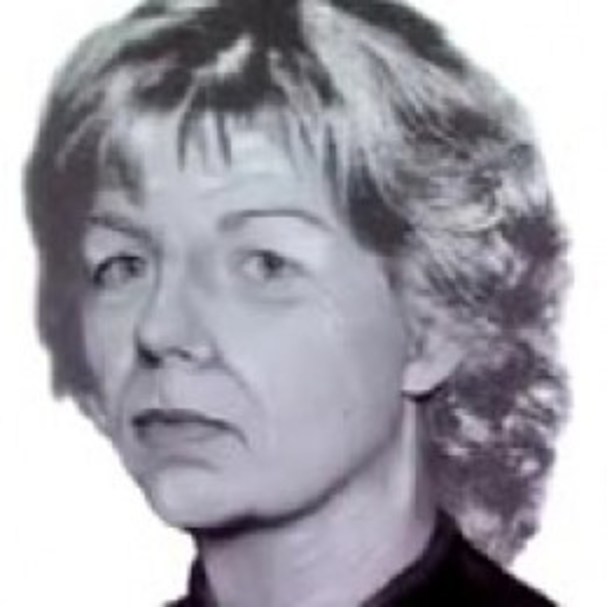 Age progression photo of Sharon Kinne