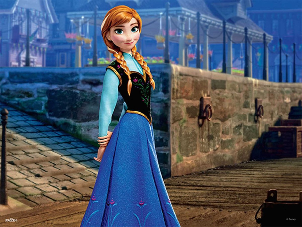 Anna, Elsa's younger sister, doesn't have powers. Their parents don't have any either. So, how come Elsa has powers? Where did her ability come from? Why was she born with the power to control ice and snow?