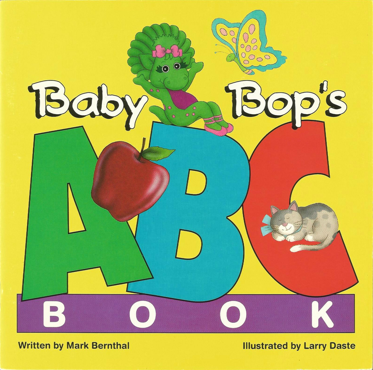 """The simple rhyming text and brightly colored illustrations of Baby Bop's book will encourage young children to """"read"""" along and have fun."""