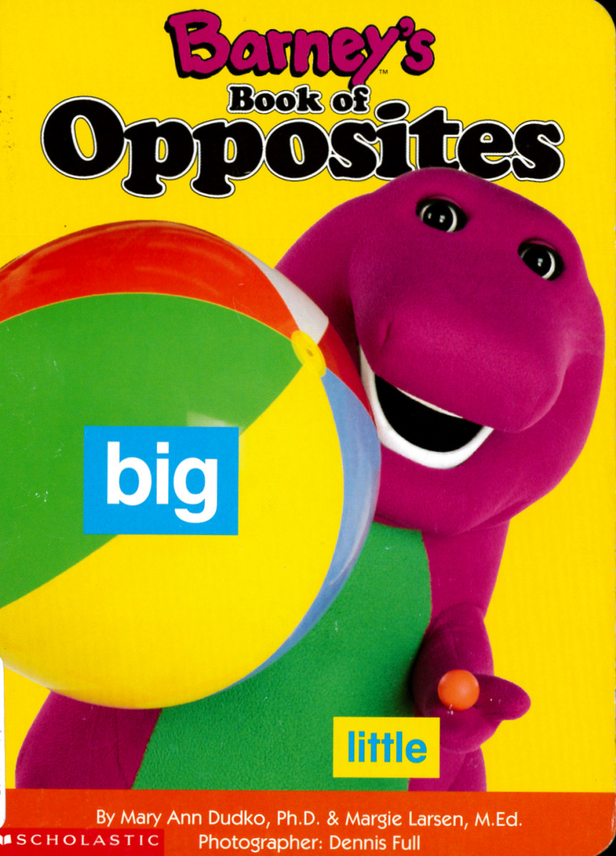 In this delightful book, Barney and Baby Bop help children understand them. Full color. Written by Mary Ann Dudko, and Margie Larsen, and photographed by Dennis Full ... Barney Publishing, 1994 Lyons Partnership.