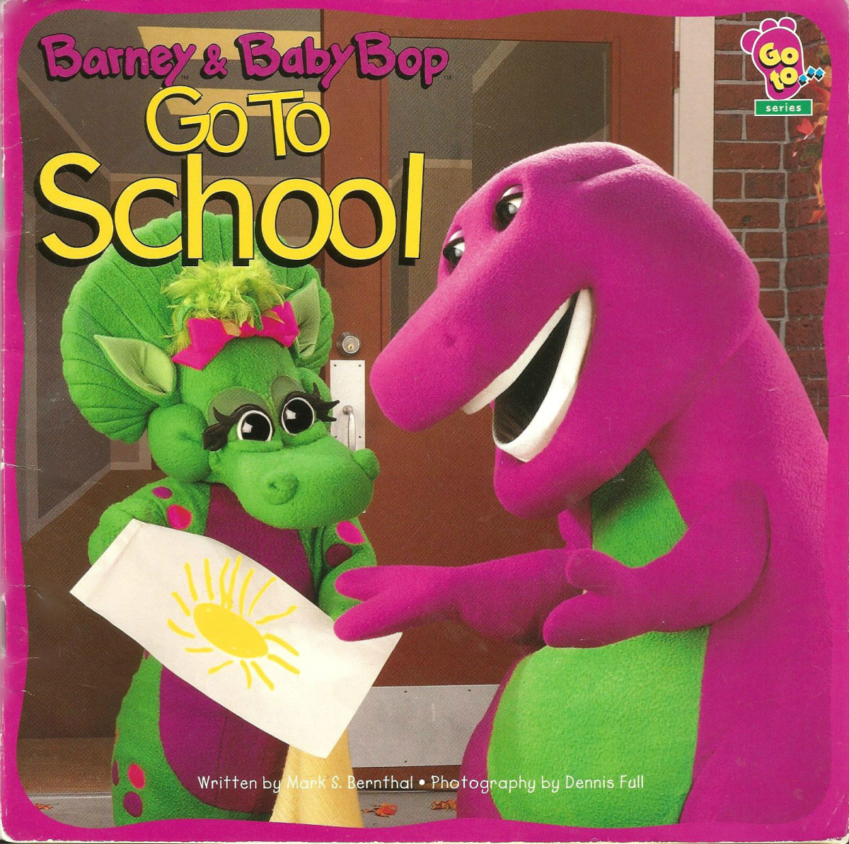 The is a fun book about going to school written  by  Mark S. Bernthal and it  as beautiful photography by Dennis Full. Published in 1996 by the Lyons Partnership.