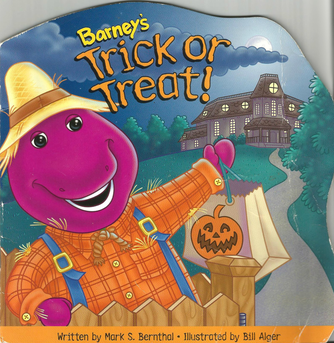 Created by the Lyon Groups and Barney Publishing this wonderful book was published in 1997 and approved by early childhood education specialist. It was written for young child who may be discovering the celebration of Halloween for the firs time.