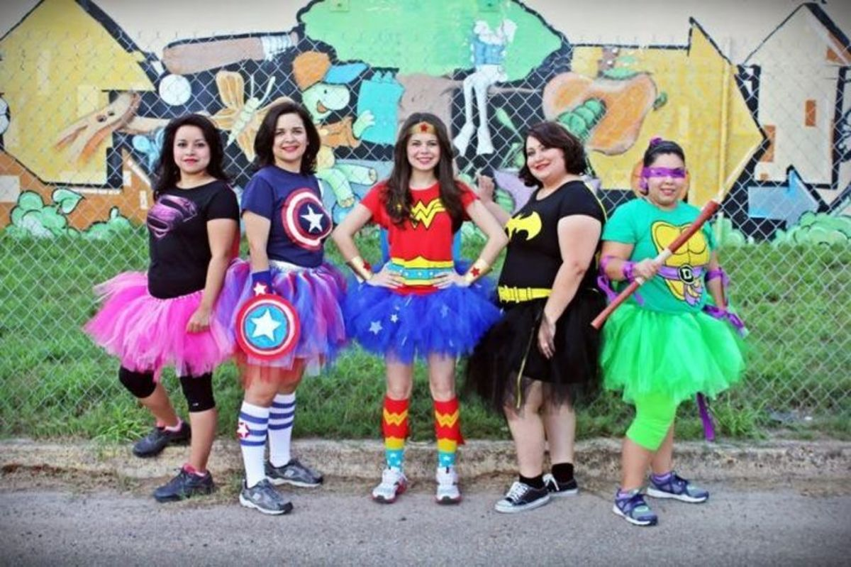 Superhero Costume Ideas:  For Women