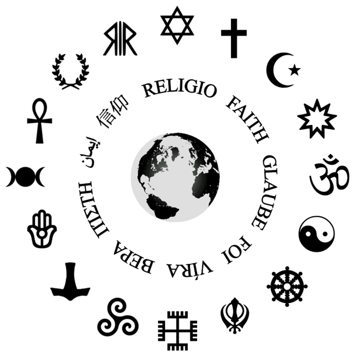 Top 10 Religions and What They Believe