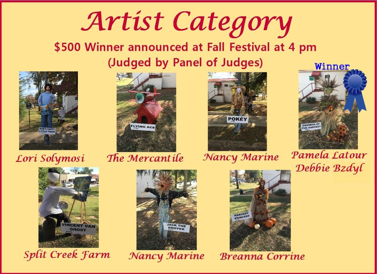 This was the first year for the Artist Category and there were 7 excellent entries.  Congratulations to the winner!