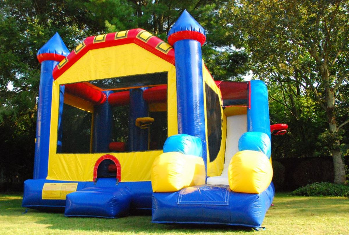 How to Move and Store a Bounce House