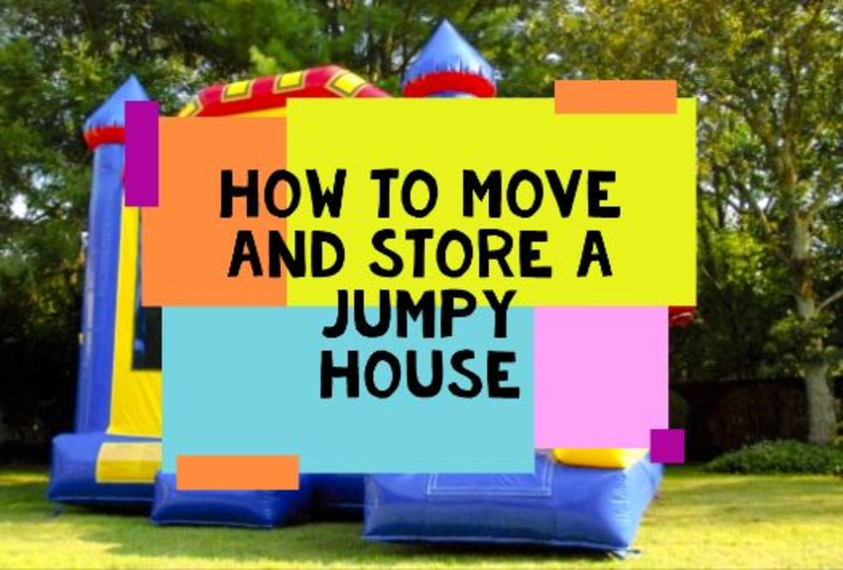 How to Move and Store a Jumpy House