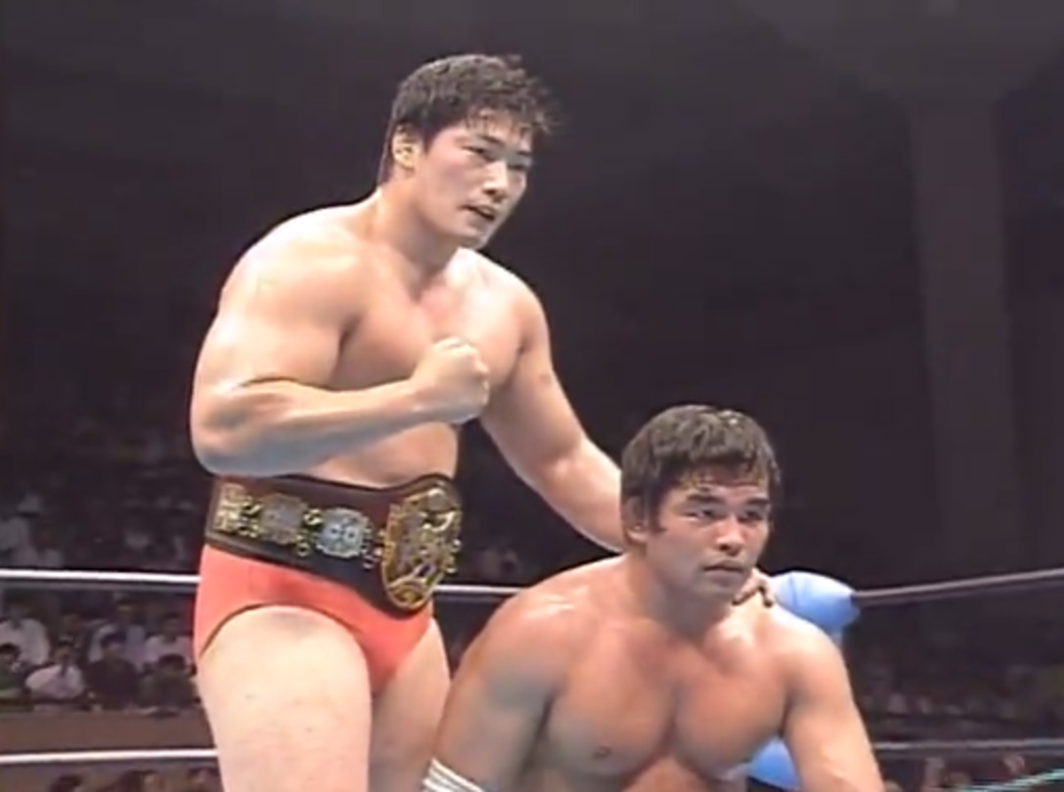 201 Non WWE Matches to See Before You Die #15: Kenta Kobashi & Tsuyoshi Kikuchi vs. Dan Kroffat & Doug Furnas