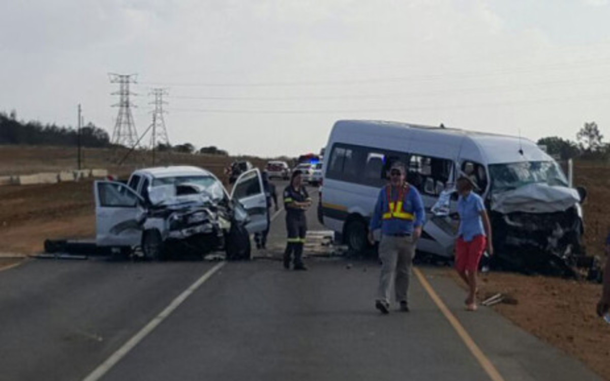 One of many road accidents in South Africa during the Festive Season  2016