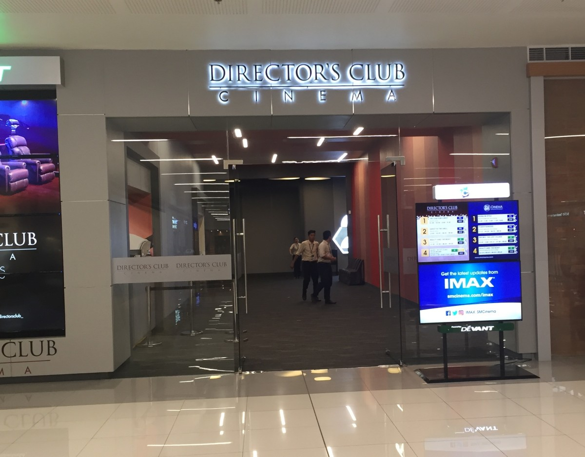 Director's Club Cinema SM East Ortigas