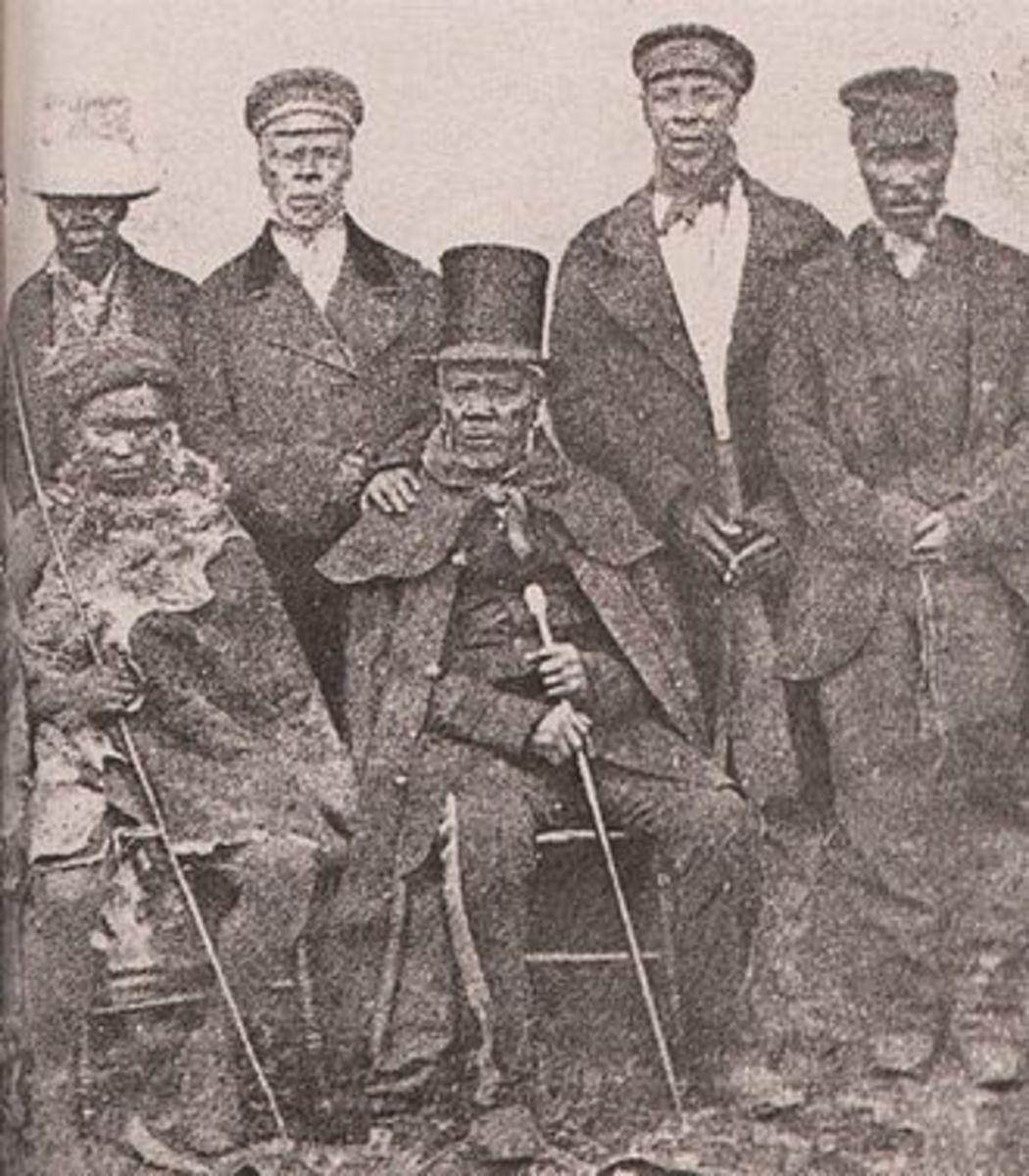 King Moshoeshoe (Moshesh) 18