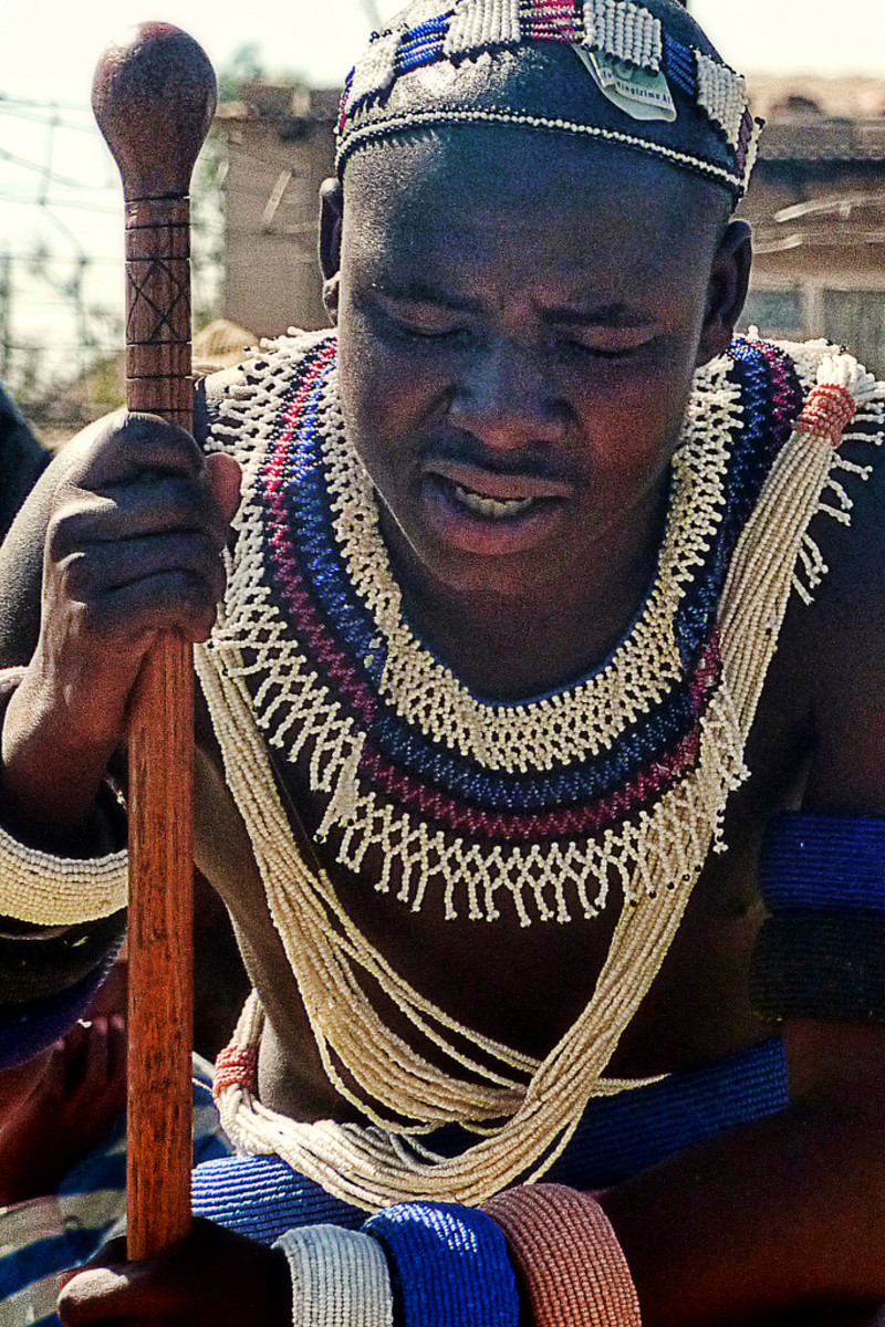 Ndebele man, South Africa