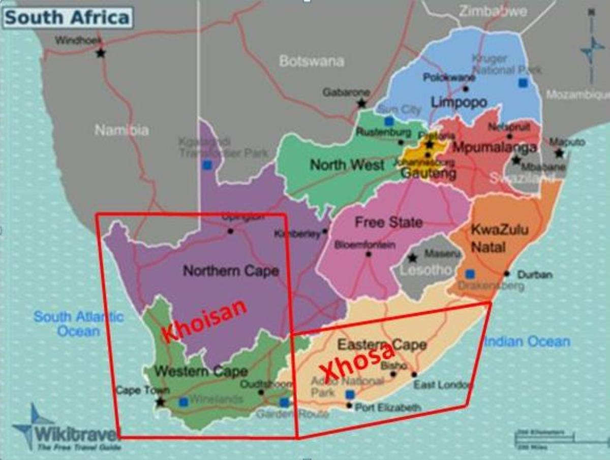 Xhosa territory, South Africa