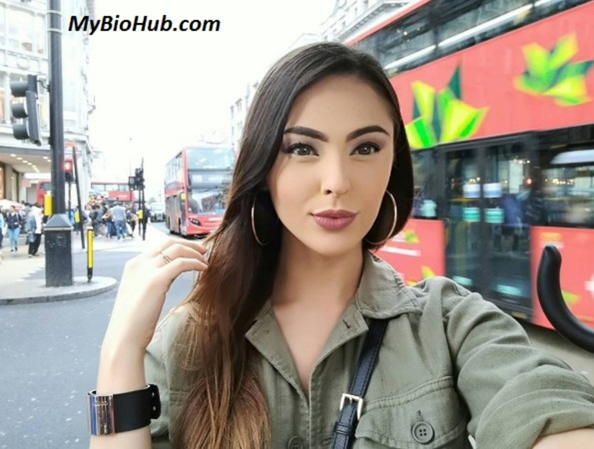 Lalla Hirayama - Japanese born South African TV presenter, actress, dancer and model