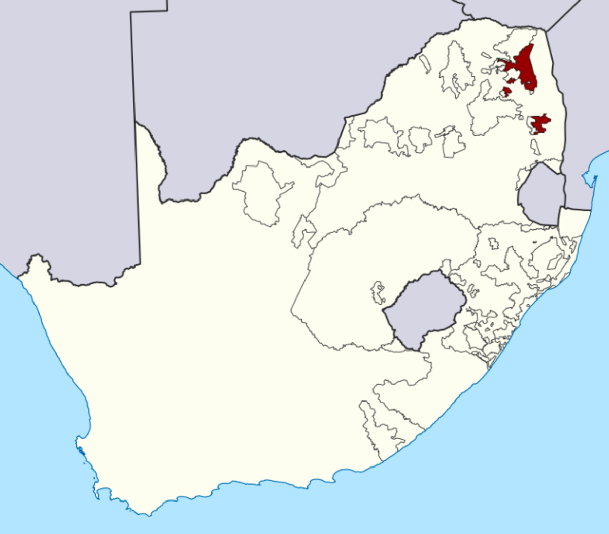 Tsonga and Shangaan territory, South Africa