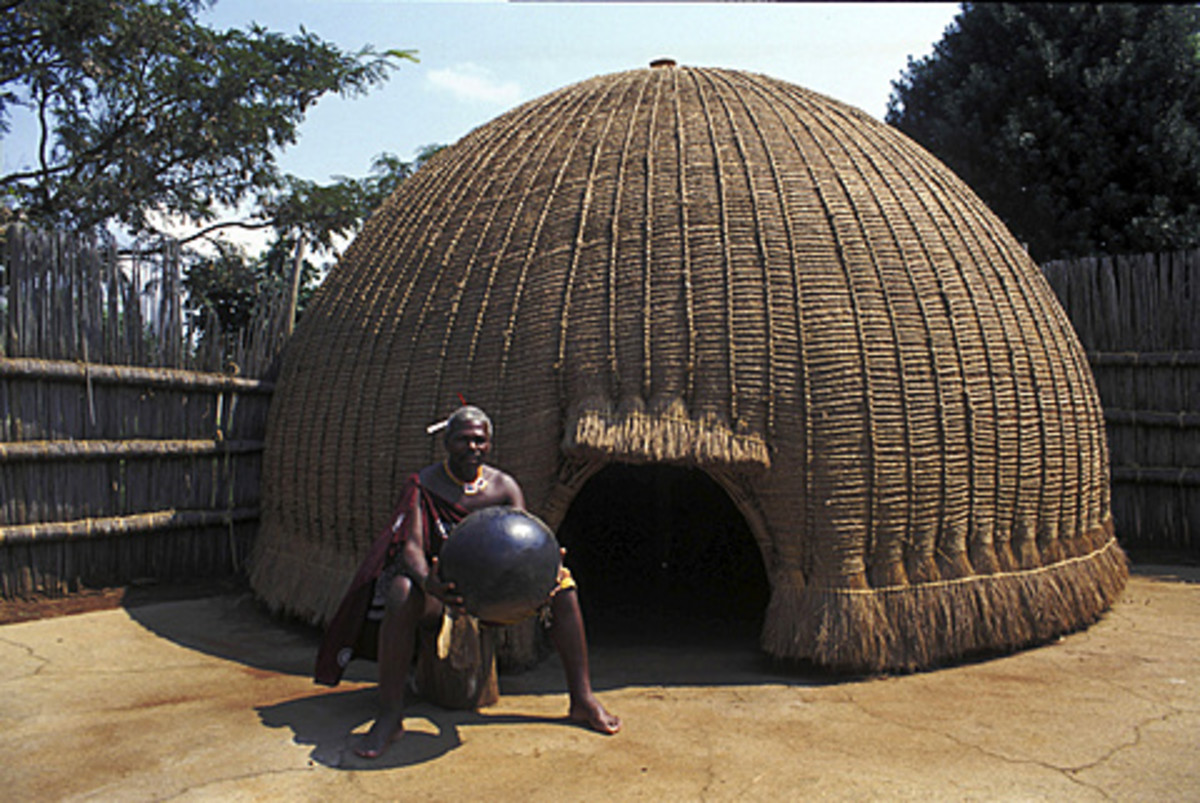 Traditional Swazi house