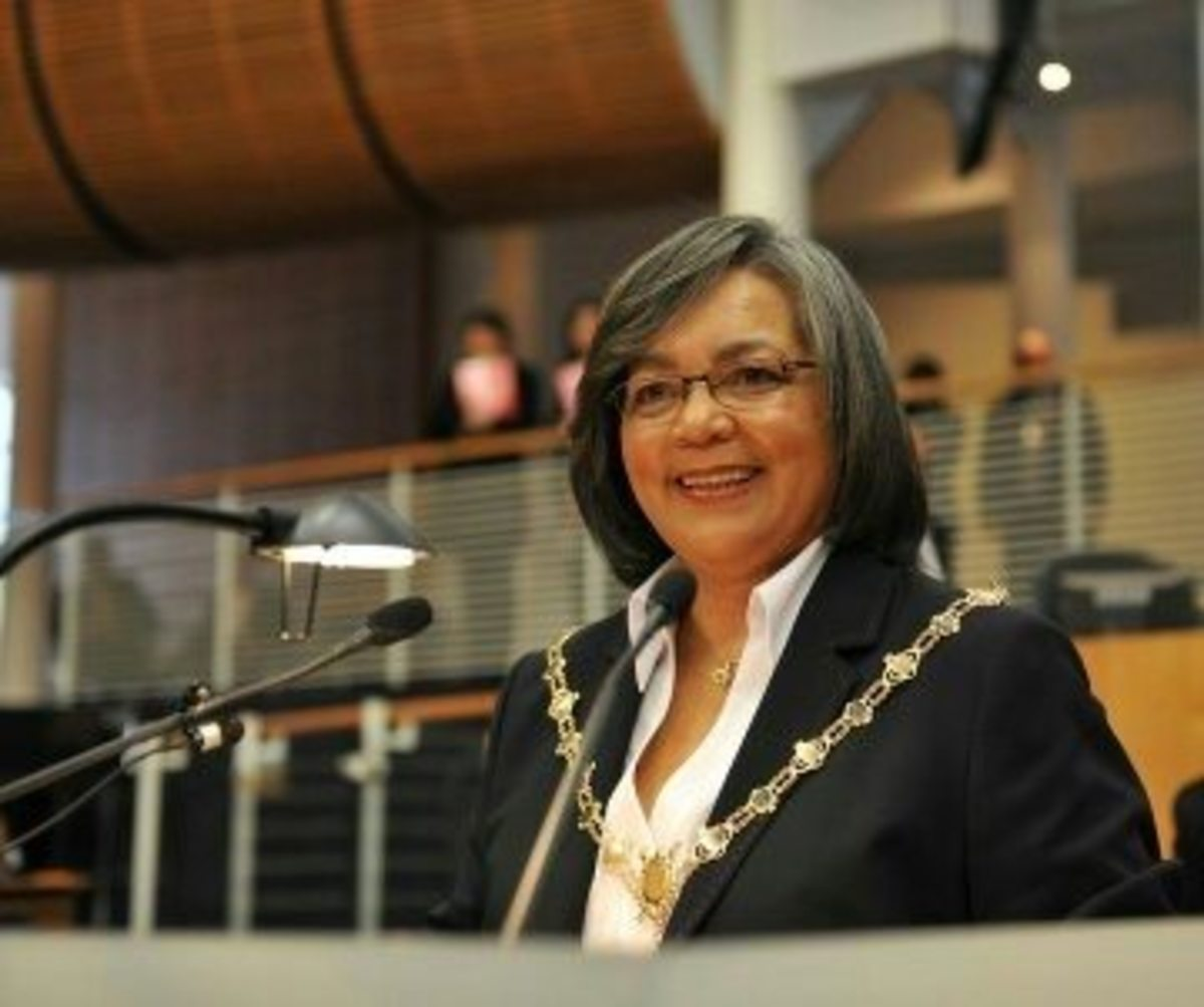 Mayor, Cape Town -  Patricia de Lille.