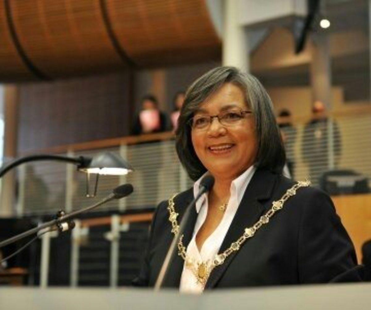 Mayor, Cape Town -  Patricia de Lille.