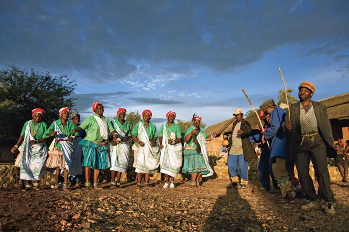 Modern Shangaan-Tsonga people