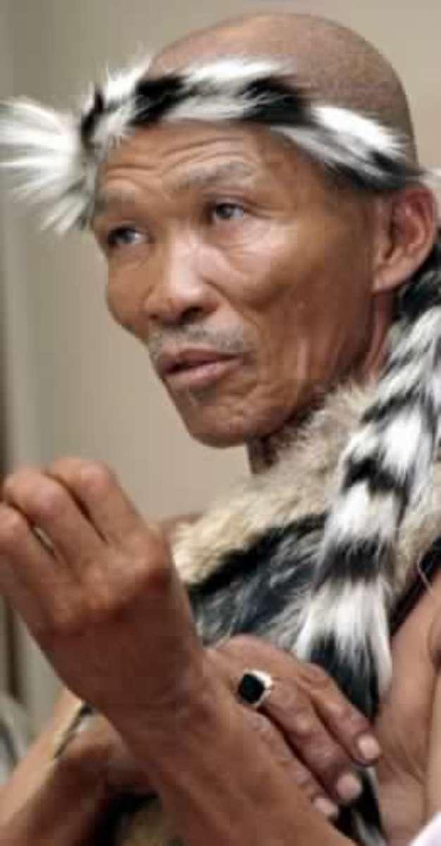 Modern Khoisan woman