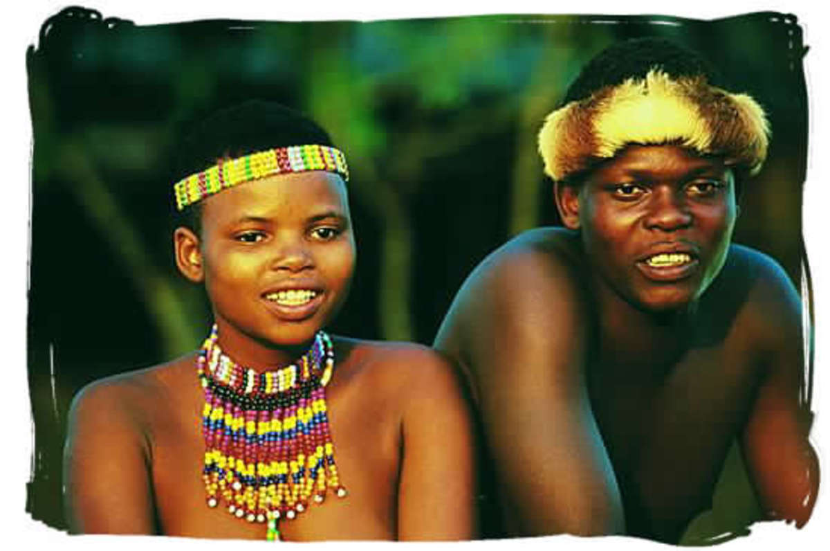 A Zulu couple