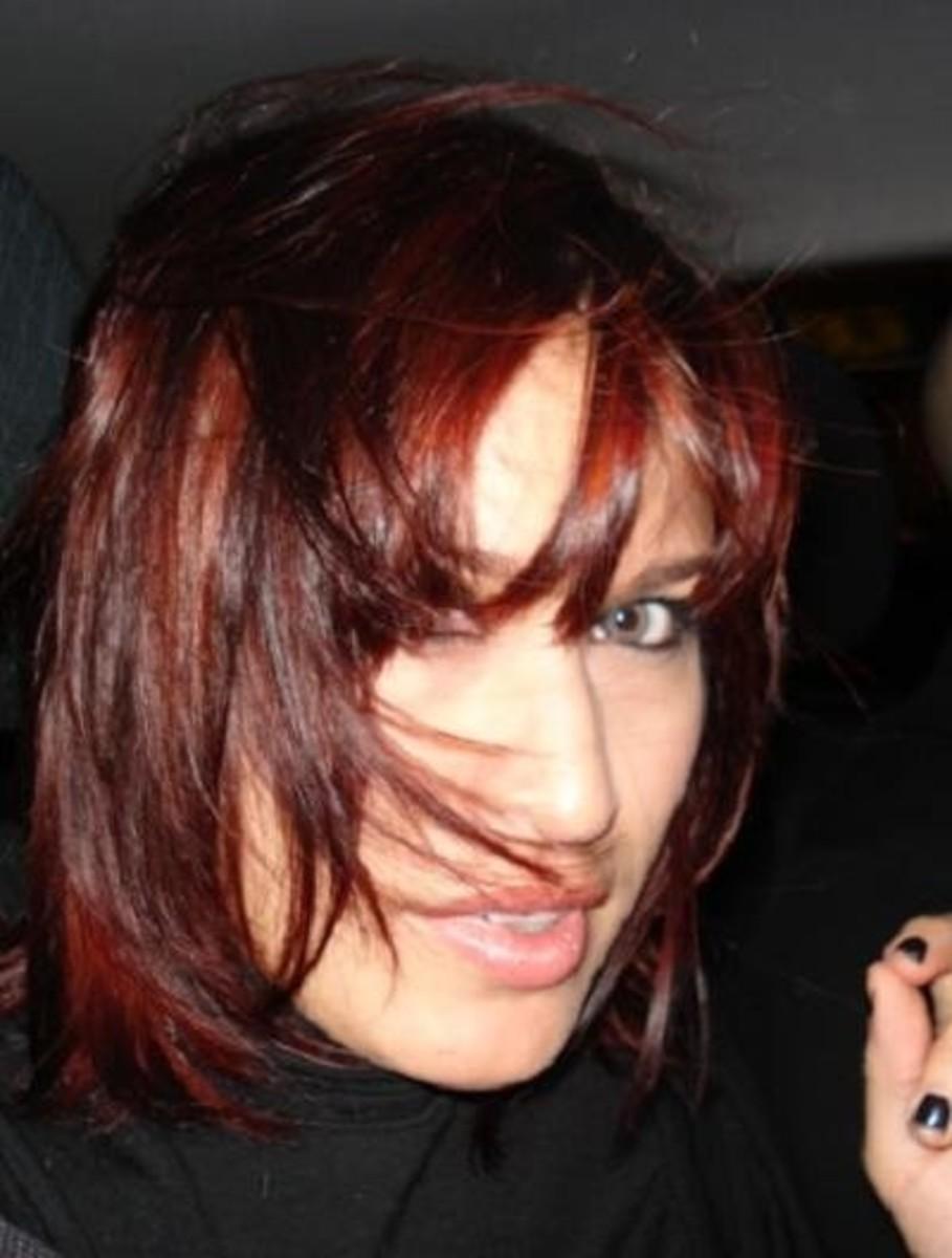 Beautiful Henna Dyed Hair