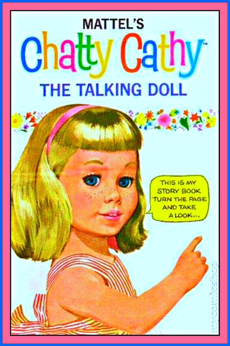 Chatty Cathy the Talking Doll, came with a Story Book and Accessories ... She was the complete little playmate for young girls.