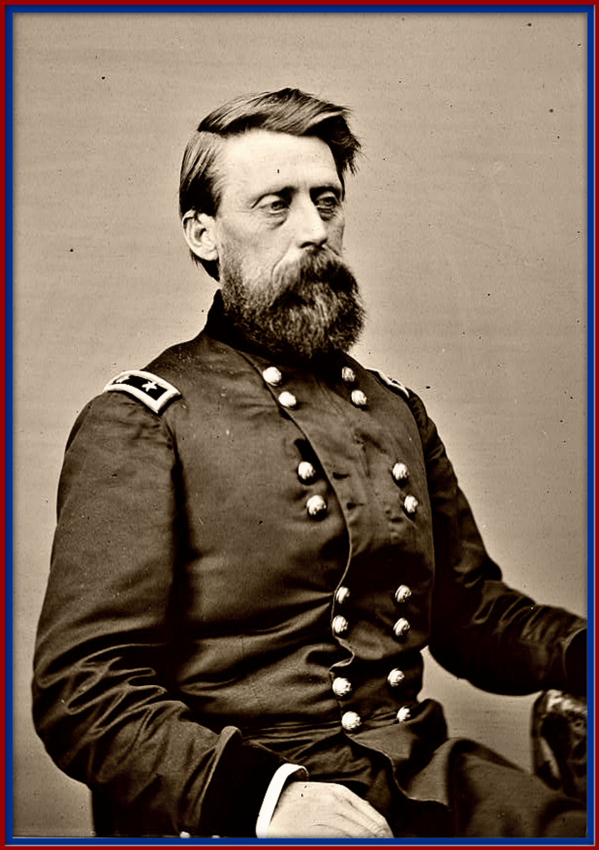 Union Major General Jefferson Columbus Davis, the leading wind of death for Centerville and Vernon Tennessee during the Civil War ... General Jefferson Davis's troops were given a free hand in the treatment of Communities in Hickman County ...