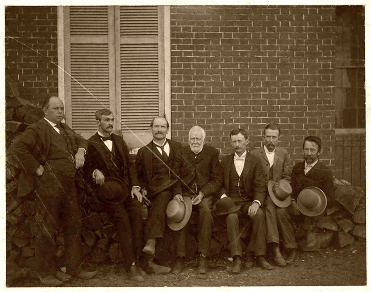 Community leaders that helped rebuilding of downtown Centerville after the physical destruction the Civil War ... First directors of First National Bank 1886. Mr. Gardner, R.B. Barnwell, J.B. Walker, Horatio Clagett, Henry Nixon, John Hungerford.