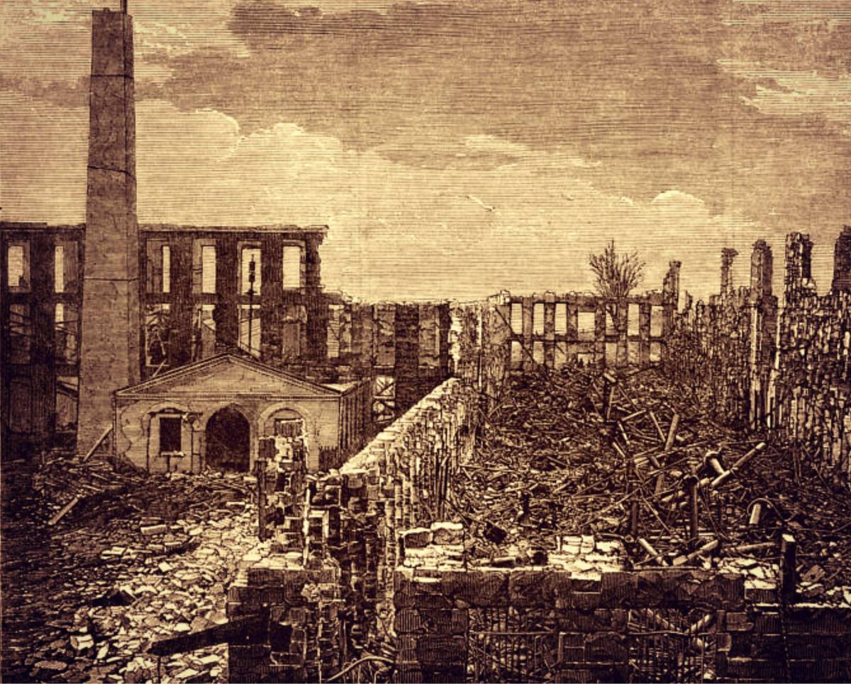 According to one resident, 'They left the town in ruins, a smoking mass of coals and ashes over which Desolation reigned supreme.' Federals duplicated that outrage at Vernon, leaving nothing to rebuild.