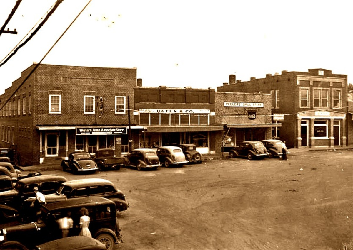 By the 1920s most of the Downtown District of Centerville was Rebuilt from the Ruins of the old that was burned during Civil War. But the scars of the Civil War left a deep psychological scar on the character of this community to this day.