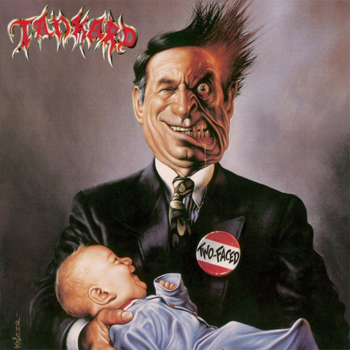 Review of the Album Two-Faced by German Thrash Metal Band Tankard