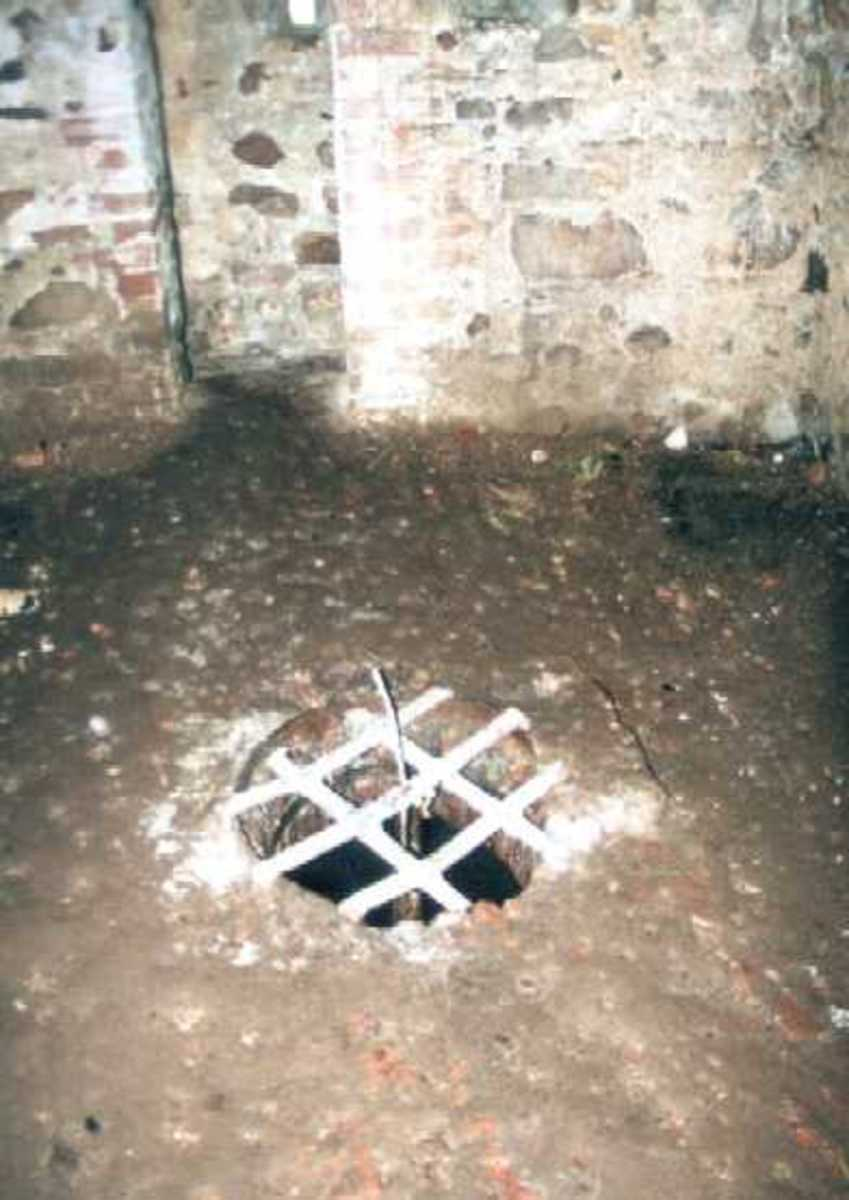 An angstloch at Spantekow Fortress