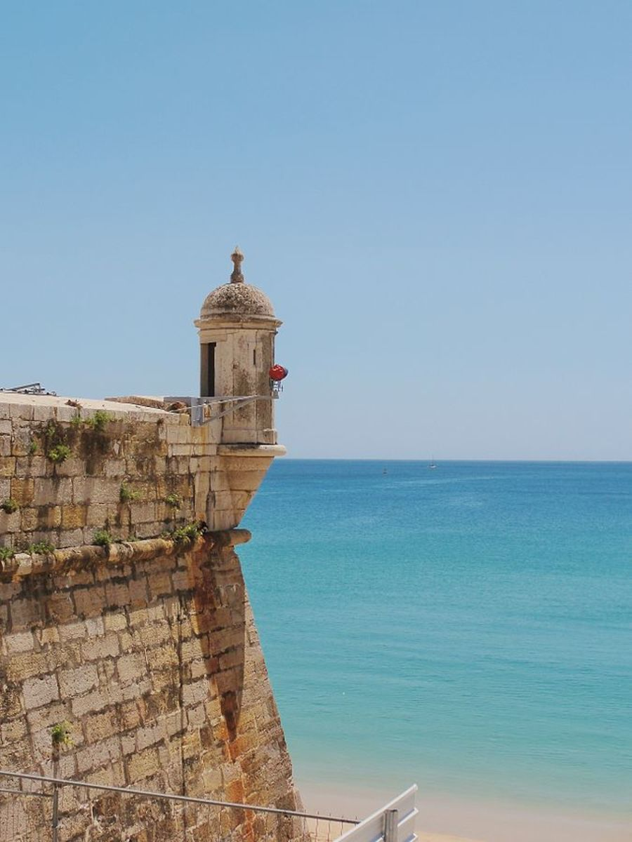 Guarita at Fortaleza de Santiago, Sesimbra Municipality, Portugal.