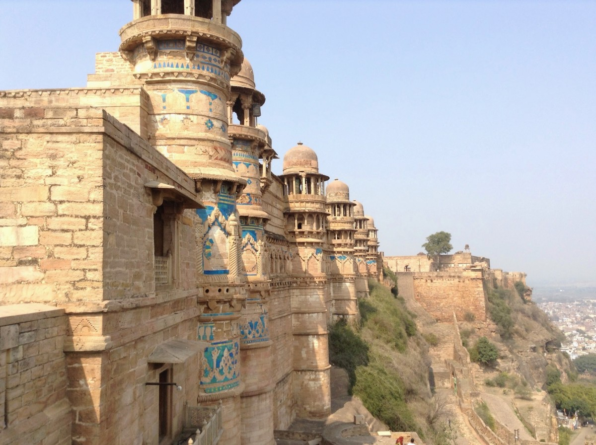 Bastion - Gwalior fort