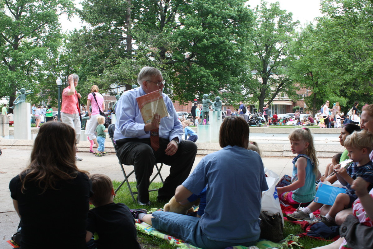 Event in Kalamazoo's Bronson Park