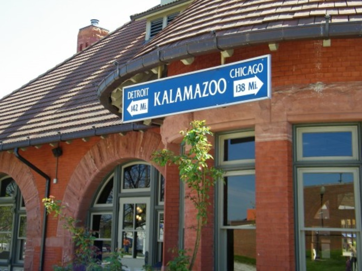 Kalamazoo Amtrak train station