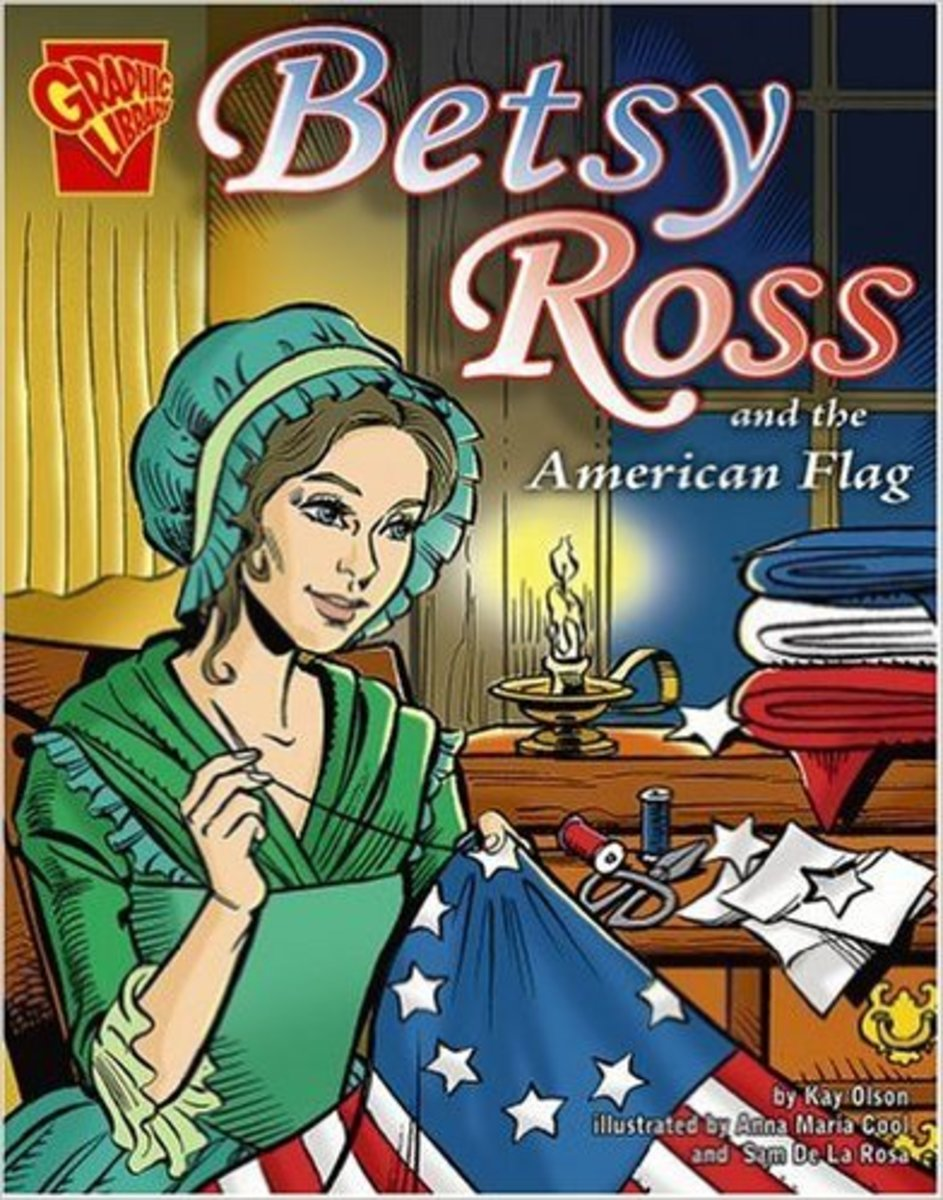 Betsy Ross and the American Flag (Graphic History) by Kay Melchisedech