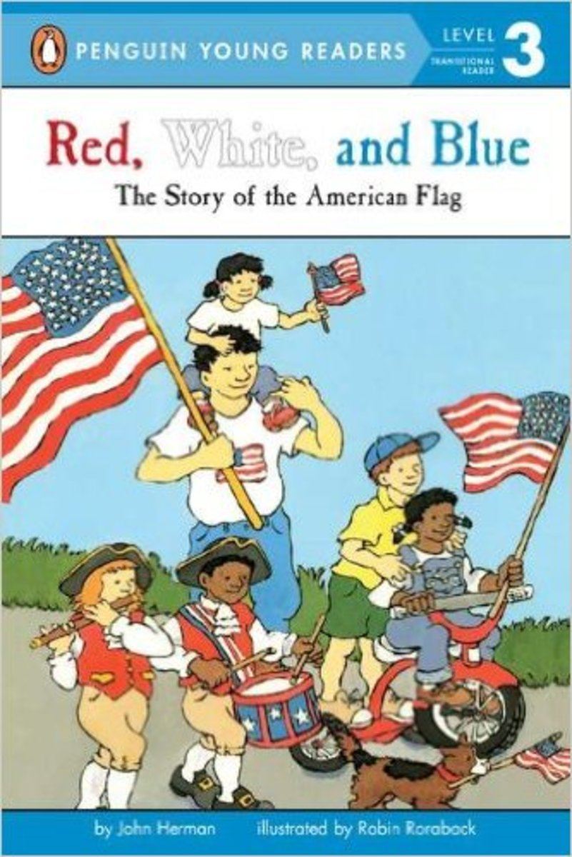 Red, White, and Blue (Penguin Young Readers, Level 3) by John Herman