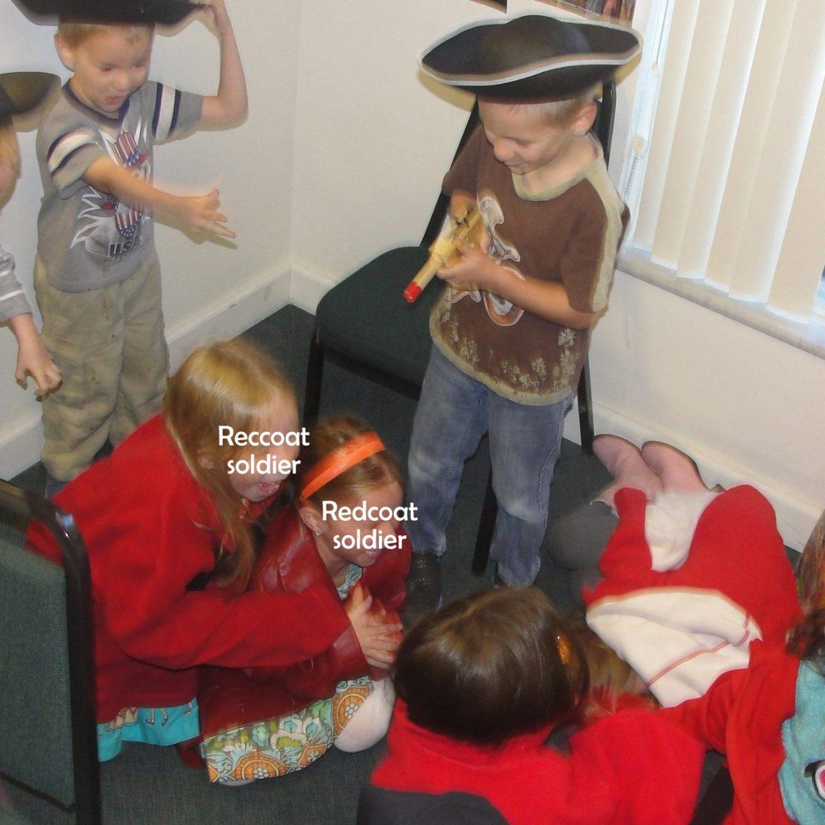 Reenacting Crossing of the Delaware & Battle of Trenton