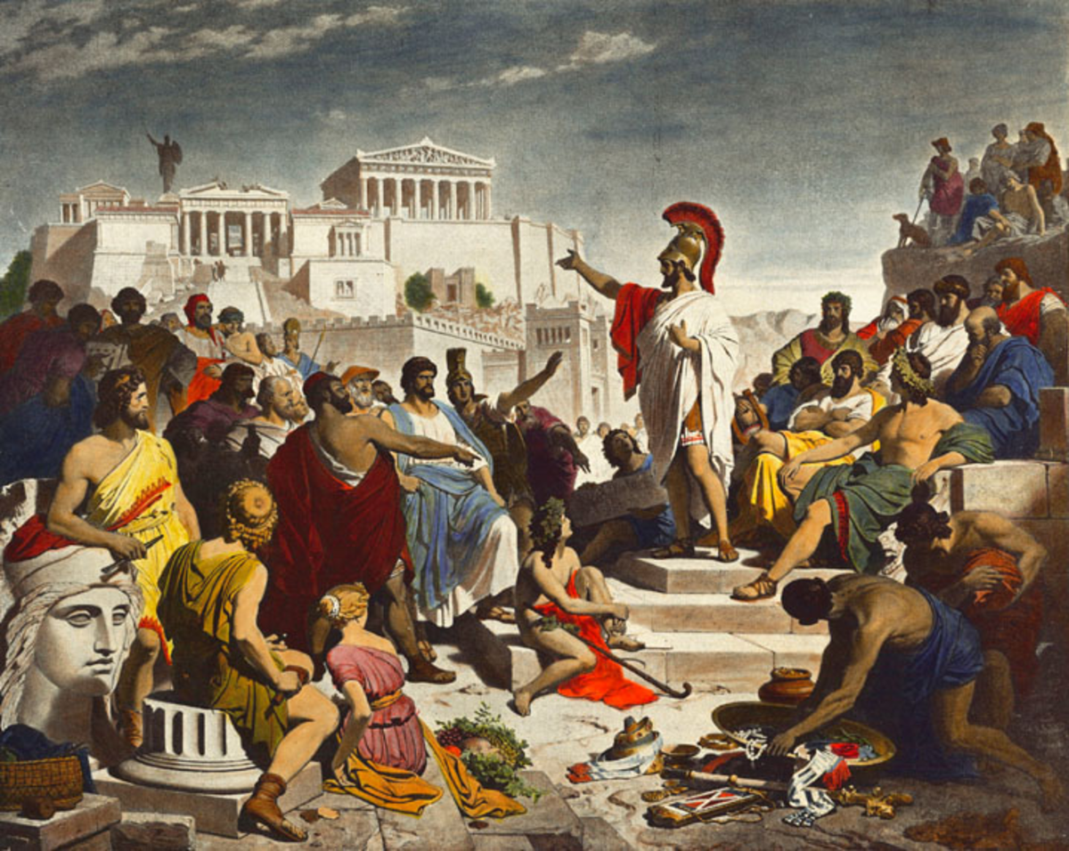 Ancient Athens, the principal topic of the book.