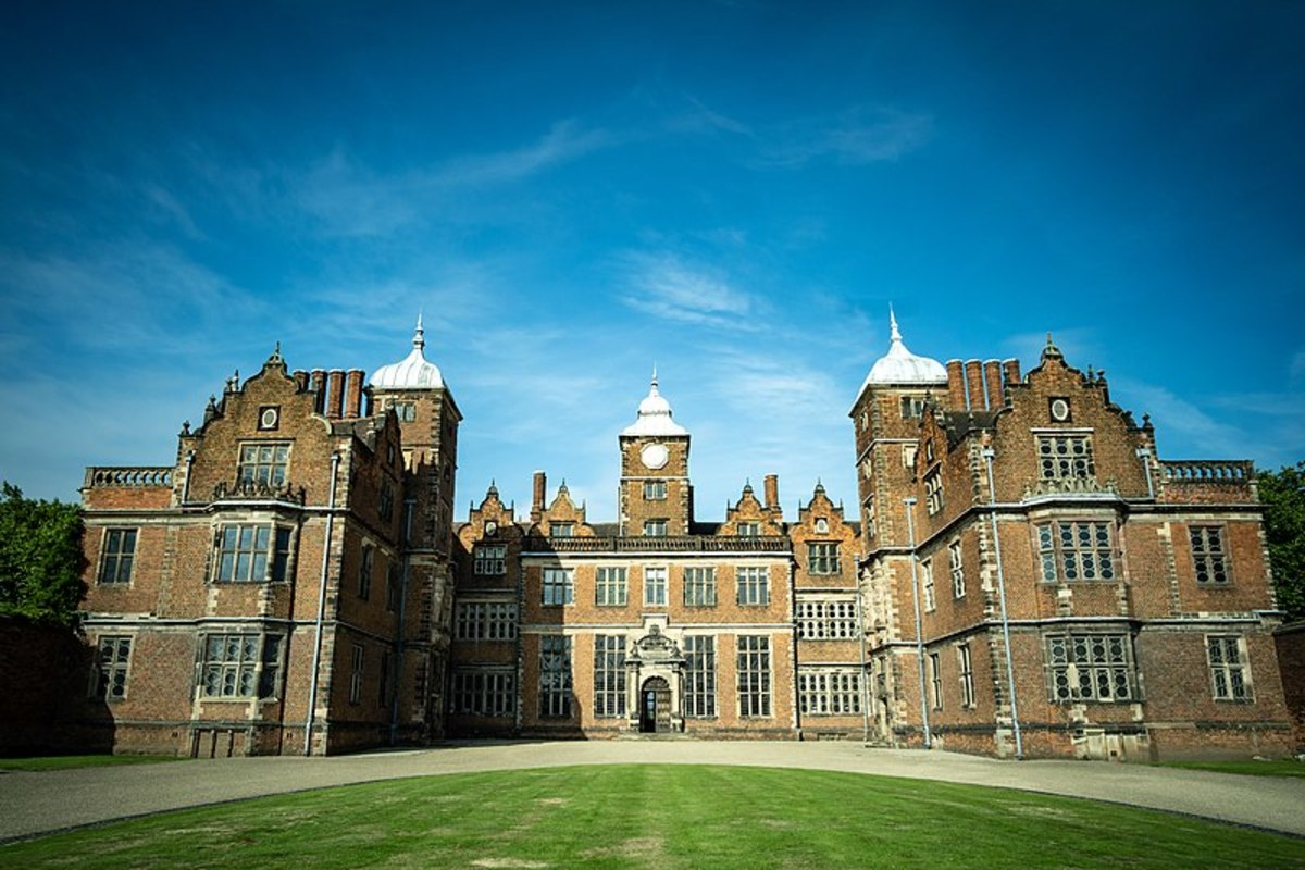 Aston Hall Front View