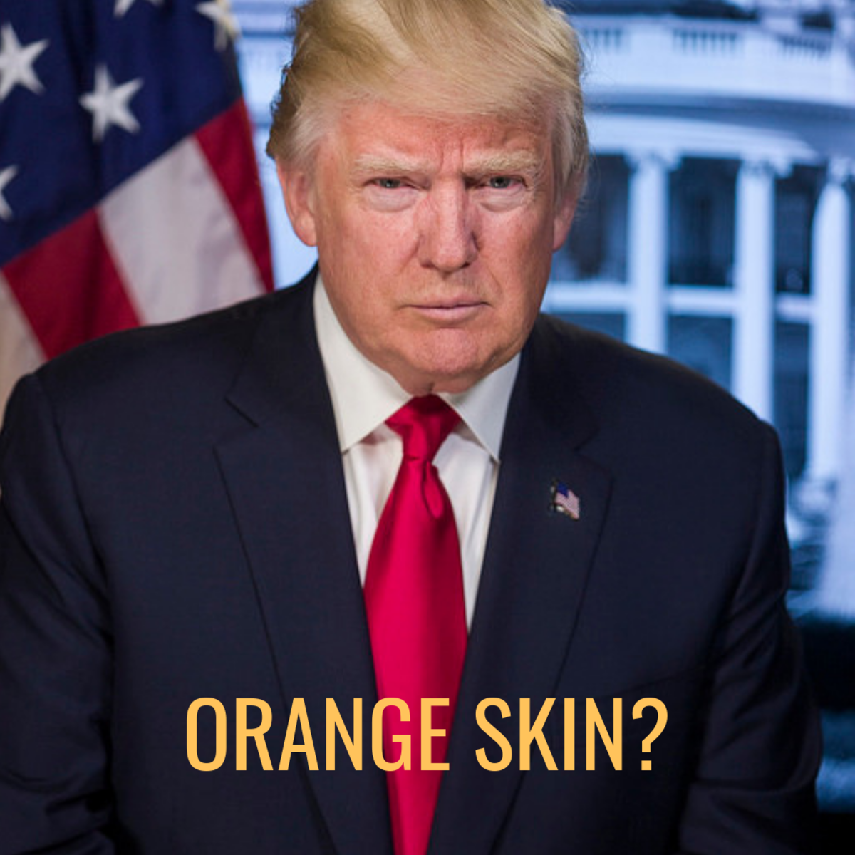 Christmas With The Kranks Tanning Scene.Why Is Donald Trump S Skin Orange Hubpages