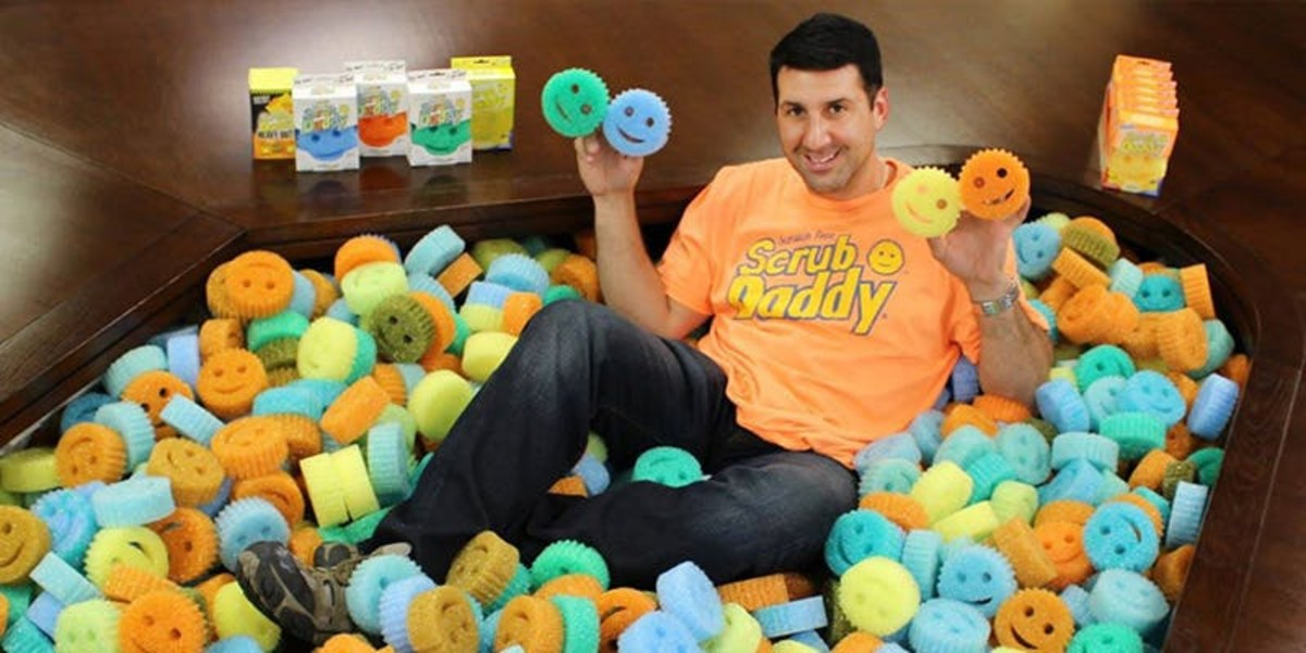 2019 Shark Tank Scrub Daddy Update