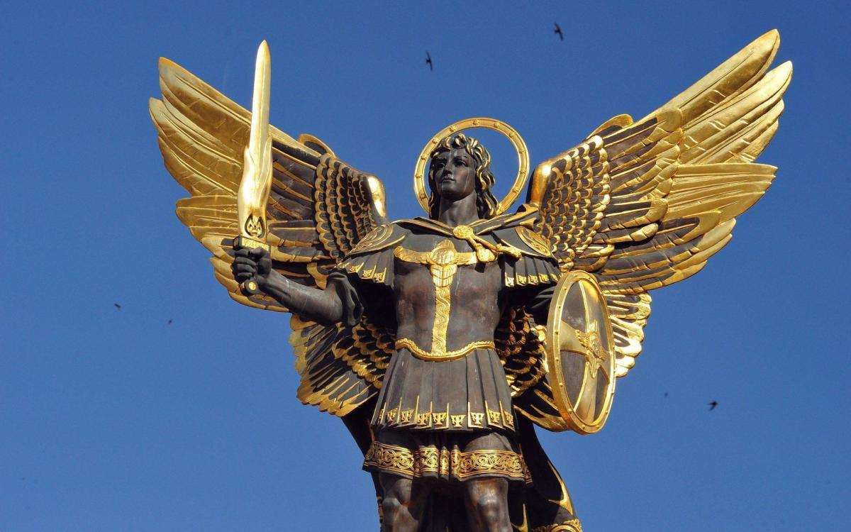 Archangel Michael is said that he is the leader of God's angels, He is in charge of the positive angels in the universe, who sometimes have to keep the negative angels do what they have to do according to Gods laws.