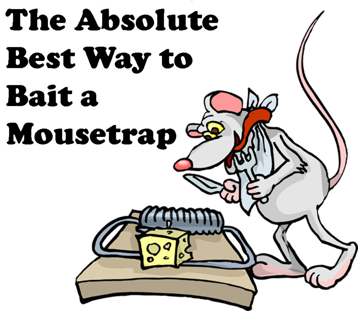The Absolute Best Way to Bait a Mousetrap
