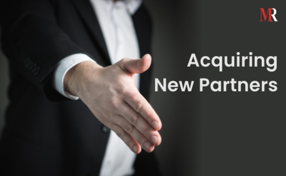 Acquiring new partners