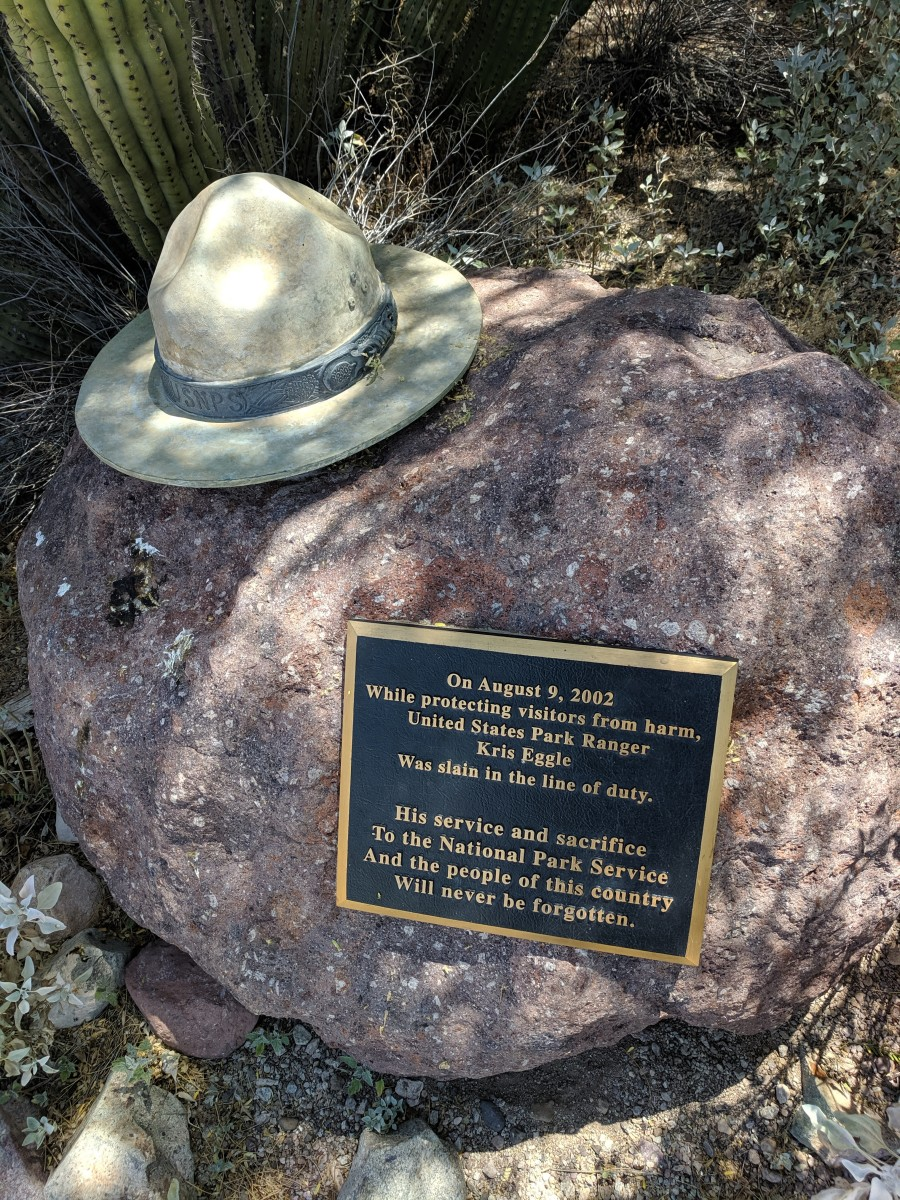 Ranger Kris Eggle was murdered by a Drug Cartel Hit Squad on August 9, 2003.  This led to the closure of the Monument from 2003 to 2014 during which Park security was enhanced.