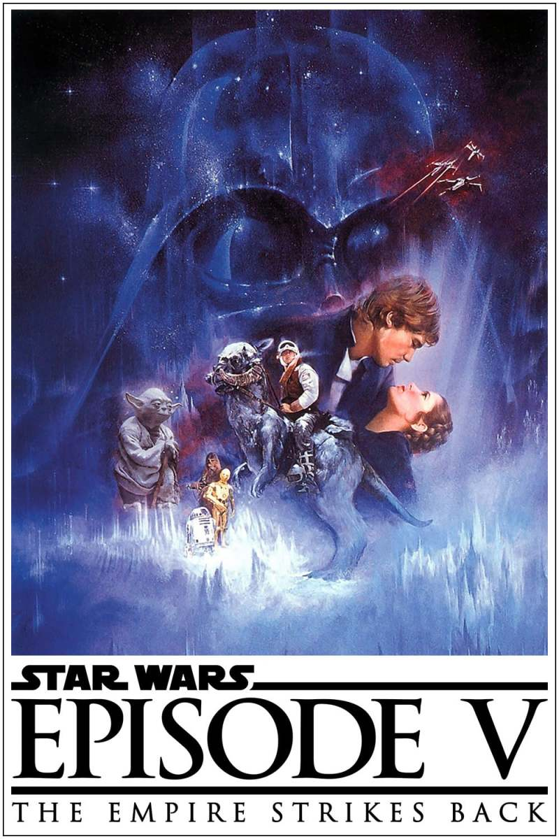 Star Wars: Episode V: the Empire Strikes Back theatrical poster.