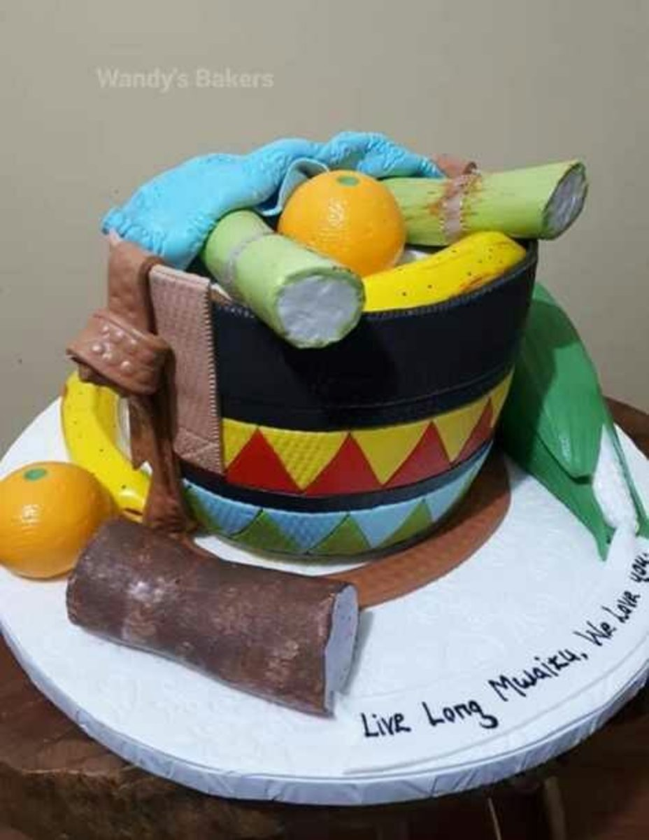 These Are Real Cakes! 50 Unbelievable African Themed Kiondo(sisal Handbag) Cakes